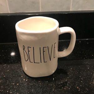 Rae Dunn Believe